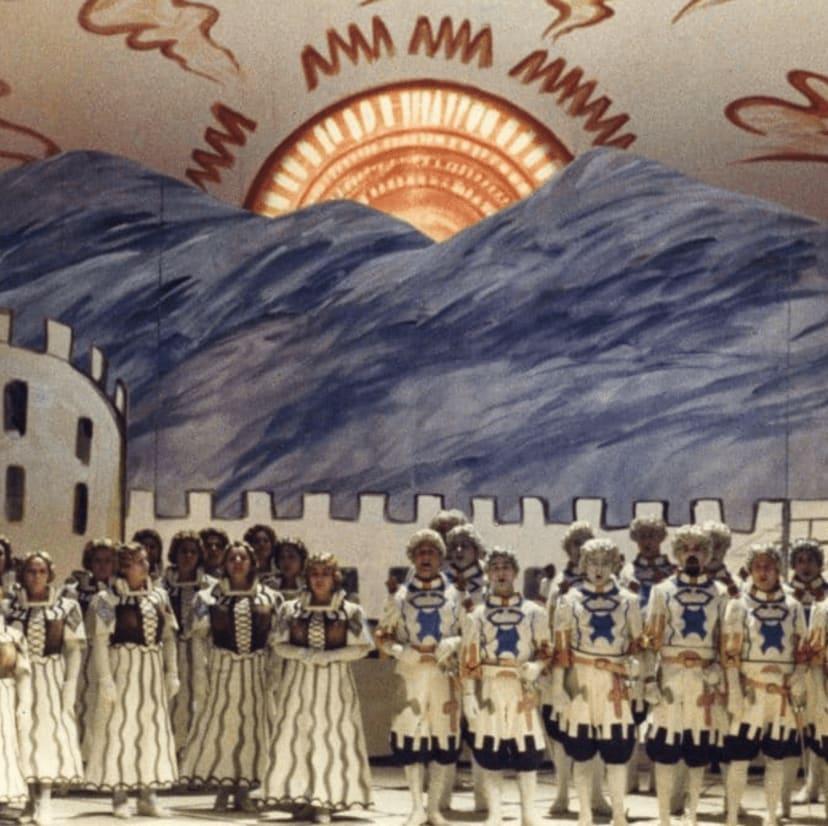 Opera, ballet and visual art: 1850-1945