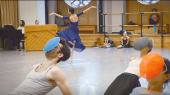 In the studio with Justin Peck