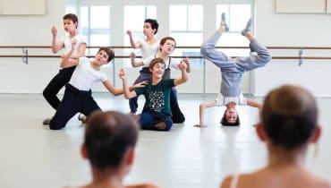 À l'École de Danse