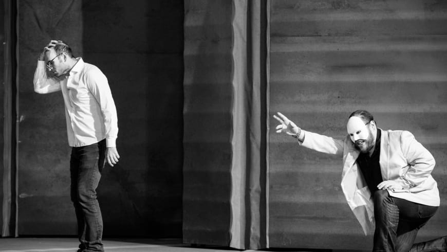 Michael Fabiano (The Duke), Quinn Kelsey (Rigoletto)