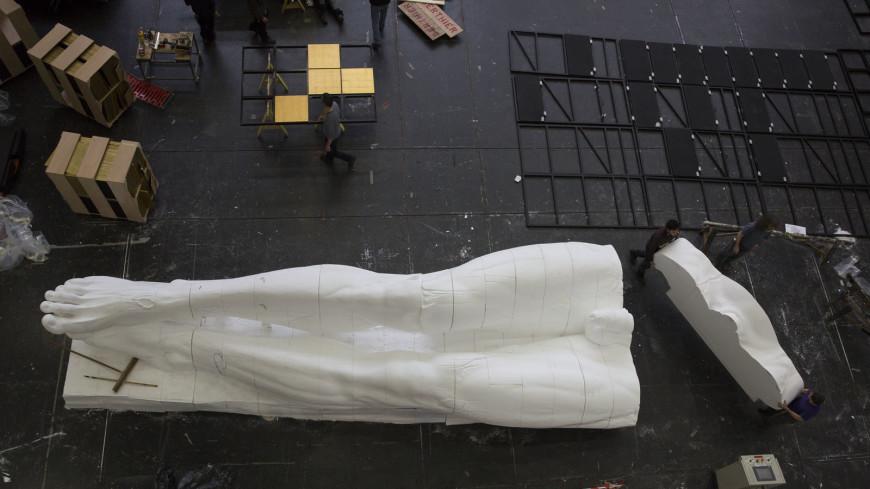 Le Christ de Sancta Susanna - Dans les ateliers de l'Opéra