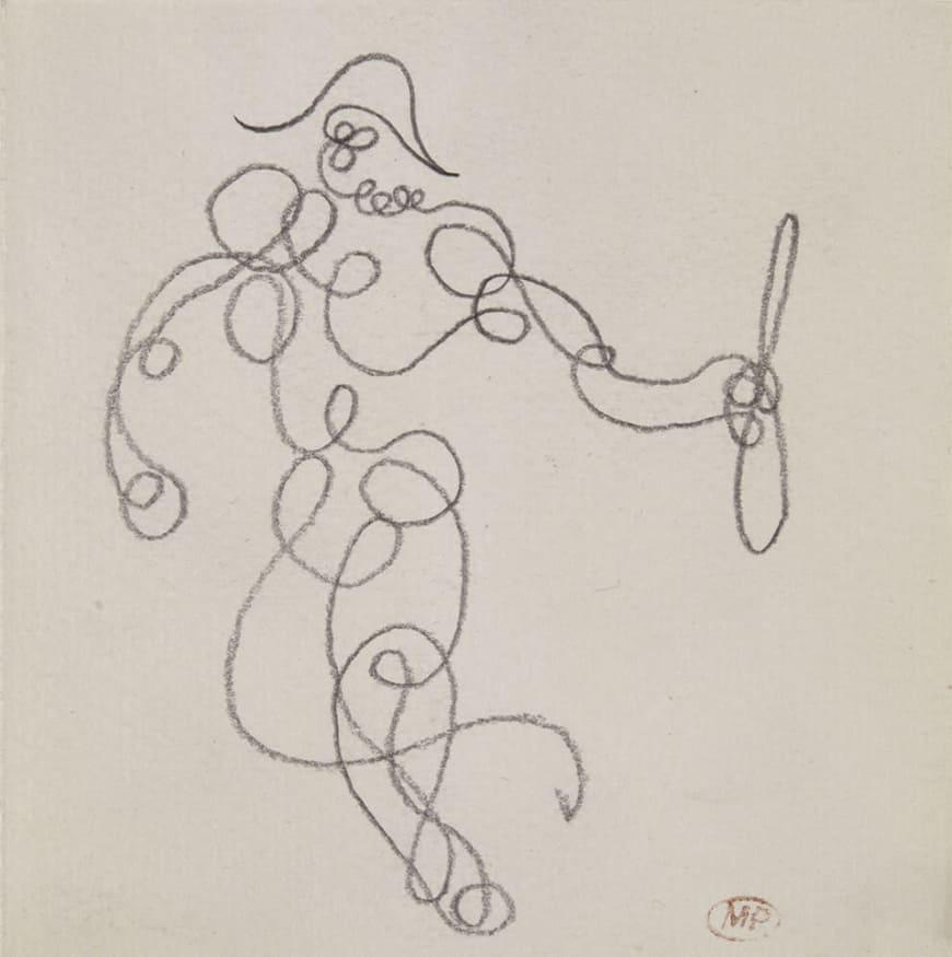 Picasso Pablo (dit), Ruiz Picasso Pablo (1881-1973). Paris, musÈe national Picasso - Paris. MP819.