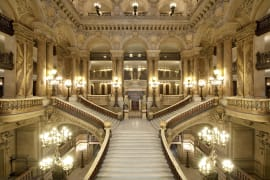 Palais Garnier, le grand escalier