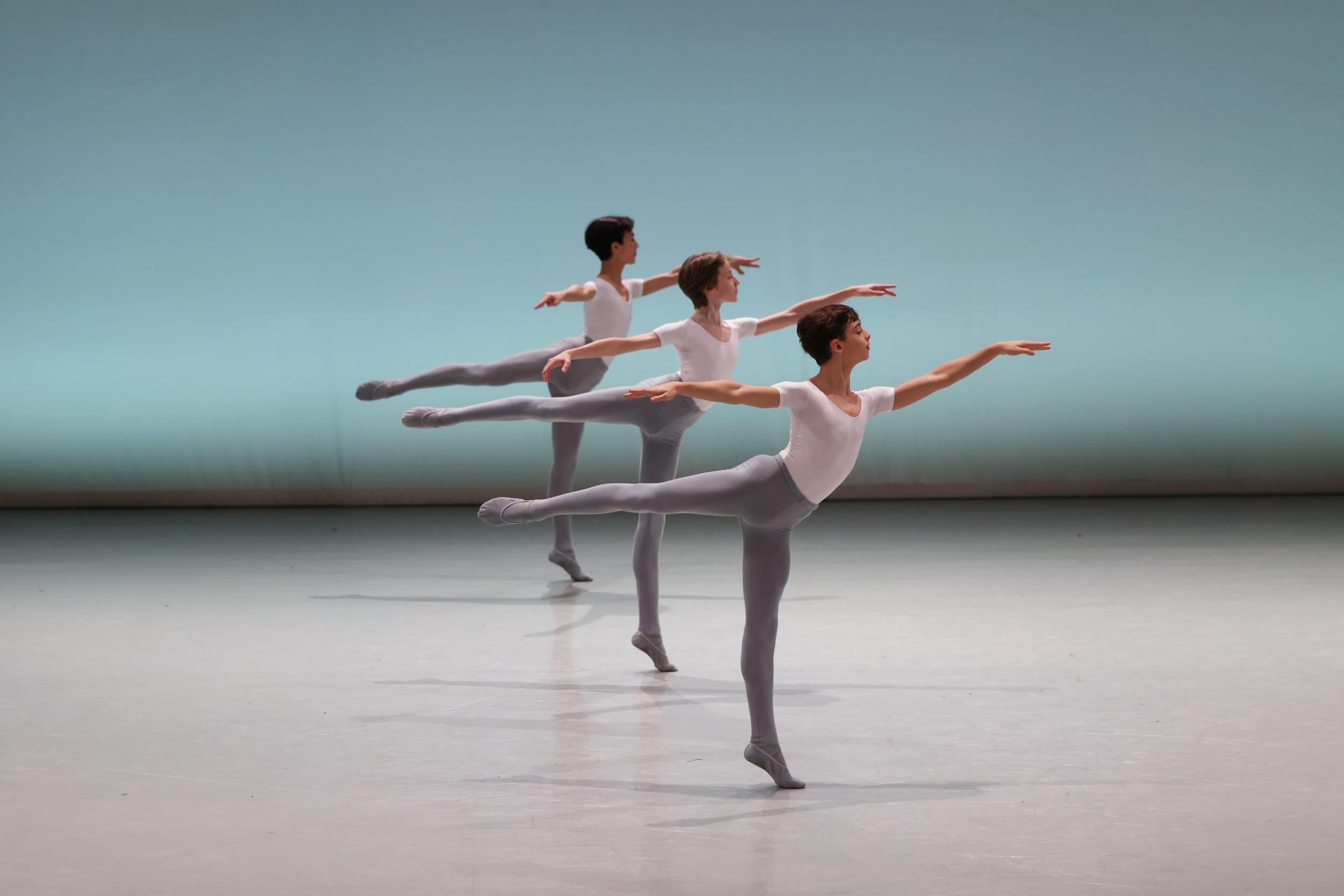 Démonstrations de l'École de Danse