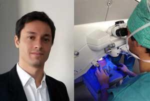Dr Patrick Loriaut Ophtalmologiste, Spécialiste en Chirurgie des yeux et des paupières, et opération de la myopie à Paris 17e.