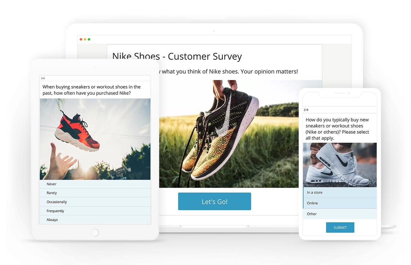 Salesforce survey exmaple