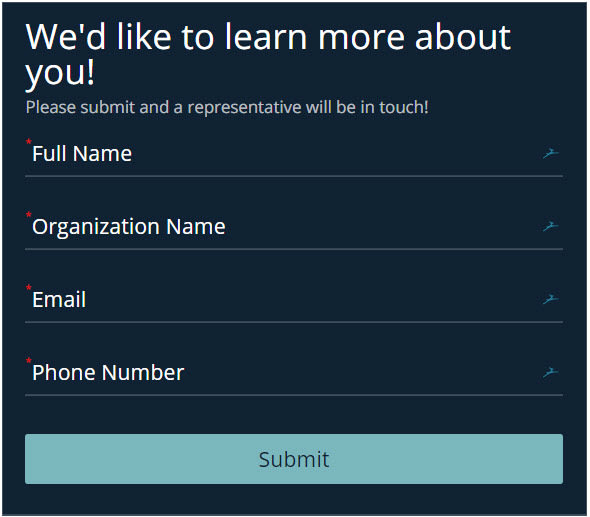 beautiful online form
