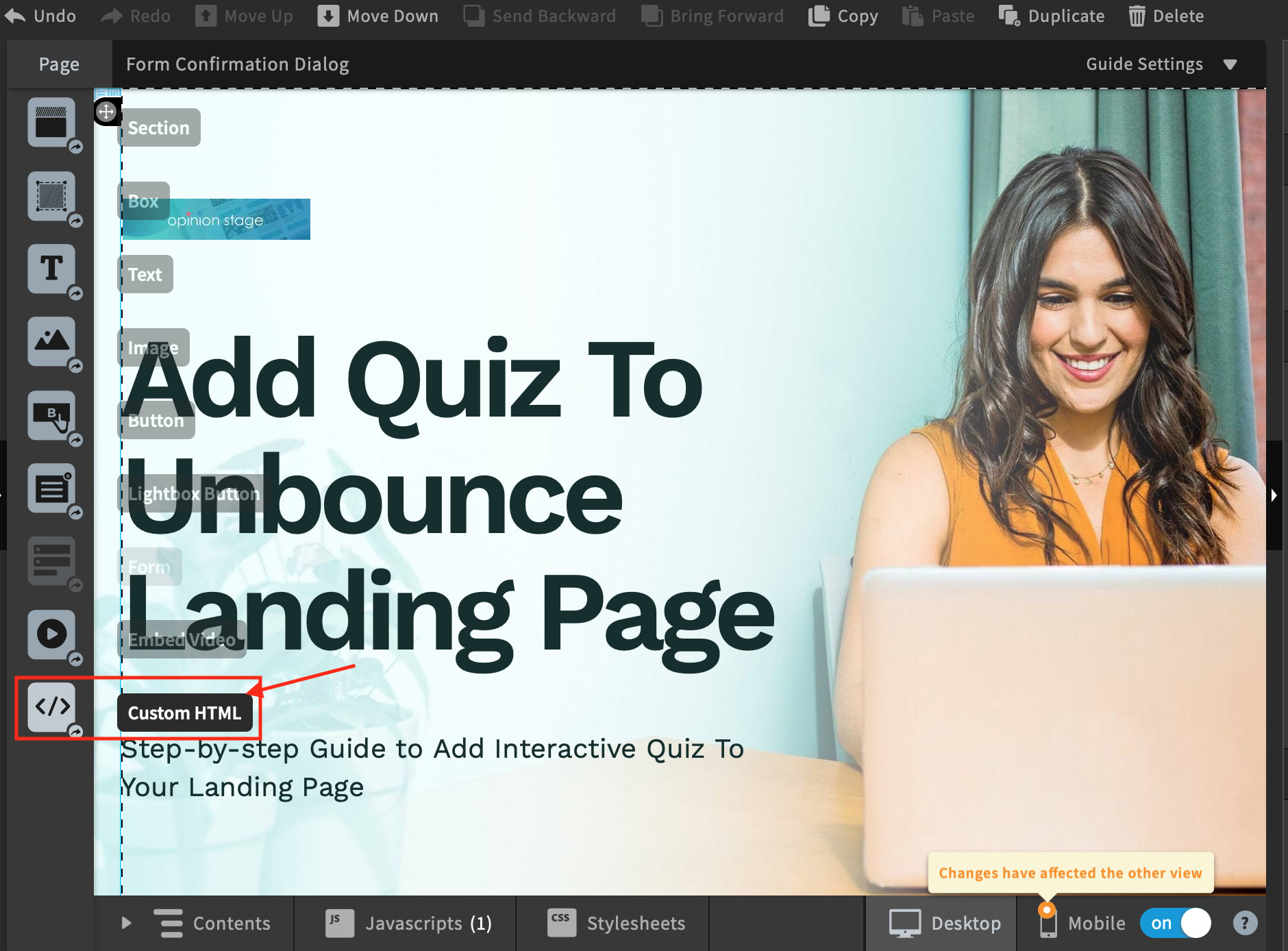 Unbounce Quiz – How To Add A Free Quiz To Your Landing Page