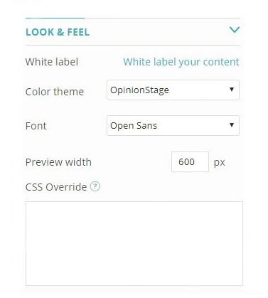 quiz customization options