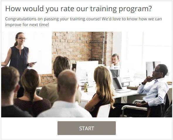 Training quiz