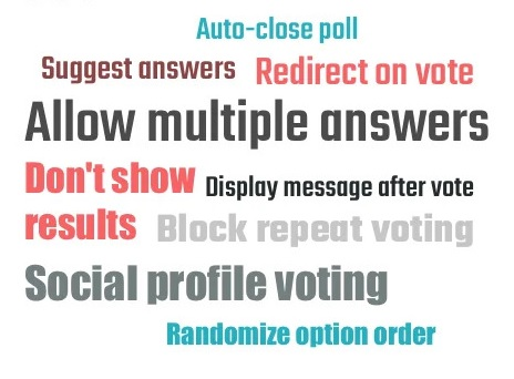 All the Polling Features You Need