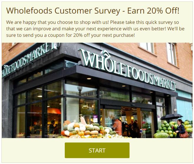 interactive content survey example