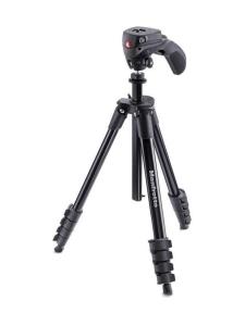 Manfrotto - Manfrotto Compact Action jalusta + kamerapää - Musta - null | Stockmann