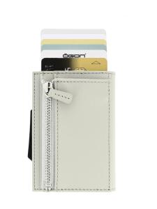 Ögon Designs - Cascade-korttilompakko kolikkotaskulla - BEIGE | Stockmann