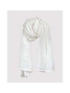 Nordic Swan Living - Jeans pellava -huivi - VALKOINEN | Stockmann