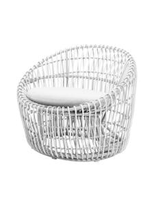 Cane-Line - Nest Round -tuoli - VALKOINEN | Stockmann