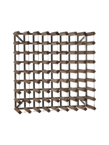 Traditional Wine Rack - Viinipulloteline 72 pulloa Dark Oak - null | Stockmann