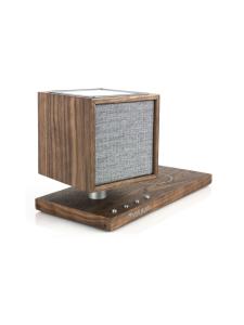 Tivoli - Tivoli Audio Revive Bluetooth-kaiutin, LED-valo ja Qi-laturi, pähkinä | Stockmann