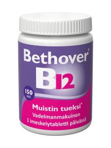 Bethover - Bethover 1mg B12-vitamiini 150 tabl. | Stockmann