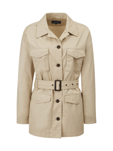 Lexington - Raquel Waxed Cotton Jacket - BEIGE | Stockmann