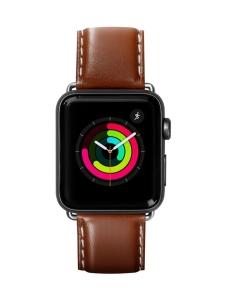 Laut - Oxford Apple Watch (42/44 mm) -nauha (ruskea) - RUSKEA | Stockmann