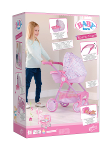Baby Born - ZAPF BABY BORN Roamer Pram nukenrattaat - null | Stockmann
