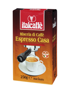 Italcaffé - Kahvi Jauhettu Espresso Casa 250g   Stockmann