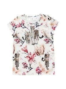 Nakoa - Print T-paita, Magnolia - MAGNOLIA | Stockmann