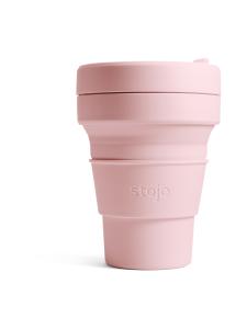 Stojo - Pocket Cup -kestokuppi 355 ml - VAALEANPUNAINEN | Stockmann