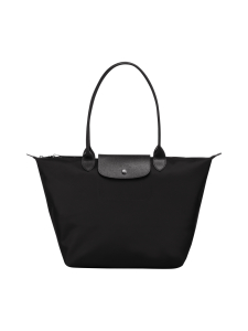 Longchamp - Le Pliage Néo Shoulder bag L - Laukku - BLACK | Stockmann