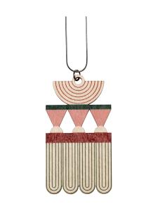 YO ZEN - Art Deco -kaulakoru, printattu koivu - MULTI   Stockmann