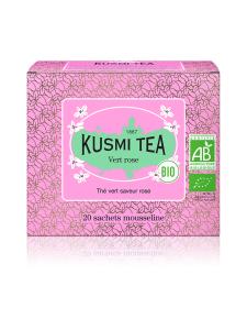 Kusmi Tea - Green Rose  Luomu pussitee 20kpl 40g | Stockmann