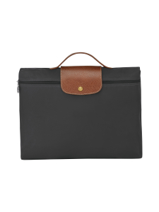 Longchamp - Le Pliage Document holder - Laukku - GUN METAL | Stockmann