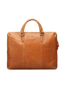 MMV Bags - Luton Briefcase -nahkasalkku - COGNAC (KONJAKINRUSKEA) | Stockmann