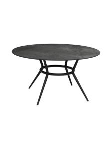 Cane-Line - Joy-ruokapöytä 144 halk x 72 cm - LAVA GREY TUMMA HARMAA, TUMMA HARMAA KUVIOITU | Stockmann