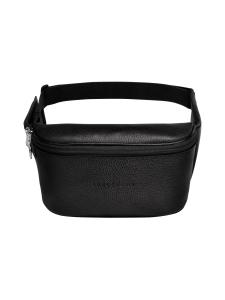 Longchamp - Le Foulonné Belt Bag - Vyölaukku - BLACK | Stockmann