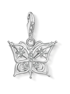 Thomas Sabo - Thomas Sabo pendant butterfly star and moon silver -hela   Stockmann
