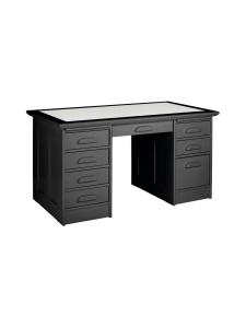 Boknäs - Kirjoituspöytä laatikostoilla - MUSTA | Stockmann