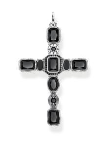 Thomas Sabo - Thomas Sabo Cross Black Stones -riipus | Stockmann