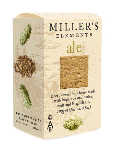 Artisan Biscuits - Cracker Ale Miller's Elements 100g   Stockmann
