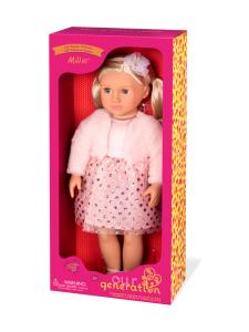 Our Generation - OUR GENERATION Millie -nukke vaalenapunaisessa mekossa | Stockmann