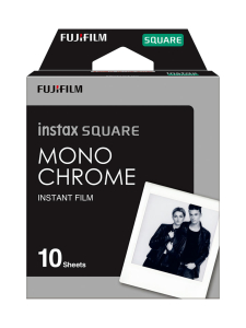 Fujifilm - Fujifilm Instax Film Square (10 kuvaa) pikafilmi - Monochrome | Stockmann