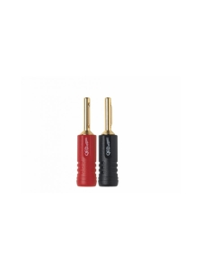 QED - QED Screwloc ABS 4mm Plug 2RED 2BLK - null | Stockmann