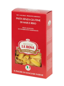 La Rosa - Gluteeniton Pasta Rigatoni La Rosa 500g | Stockmann