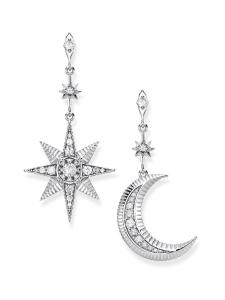 Thomas Sabo - Thomas Sabo Earrings Royalty Star And Moon -korvakorut | Stockmann