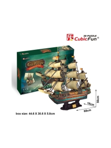 Cubic Fun - CUBICFUN 3D palapeli Espanjan sotalaiva The San Felipe | Stockmann