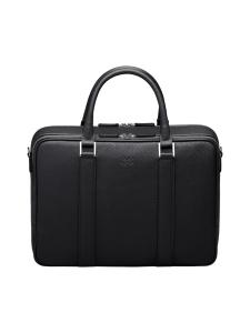 MMV Bags - Varese Onenighter Bag -nahkalaukku - MUSTA | Stockmann