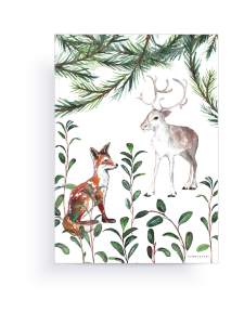 HANNASAARI - Metsä kortti A4 | Stockmann
