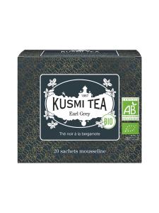 Kusmi Tea - Earl Grey Musta Pussitee Luomu 20kpl 40g | Stockmann