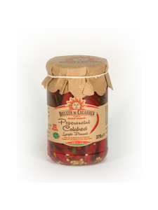 Delizie di Calbria - Kokonaiset chilit oliiviöljyssä Delizie di Calabria 270g | Stockmann